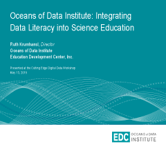 Integrating Data Literacy into Science Education