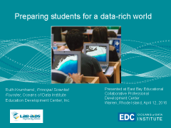 Image of first slide of the EBEC presentation