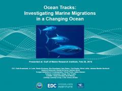 GMRI Presentation on Ocean Tracks